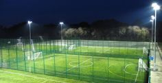 Artificial Football Pitch Dimensions in Springhill
