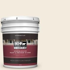 BEHR Premium Plus Ultra 5-gal. #T11-20 Lucky Potato Flat Exterior Paint 485005 at The Home Depot - Mobile
