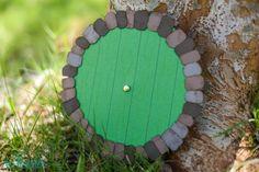 How to Make a Hobbit Door Invitation