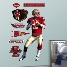 Fathead Matt Ryan Boston College Wall Decal, Team