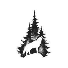 Lone Wolf Tattoo, Howling Wolf Tattoo, Wolf Tattoo Forearm, Tribal Wolf Tattoo, Small Wolf Tattoo, Wolf Tattoo Sleeve, Wolf Howling, Tribal Tattoos, Coyote Tattoo