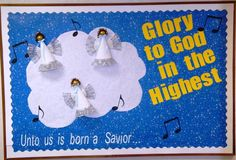 Pictures of Christmas Bulletin Boards for church | Christmas Church Bulletin Board see angel Bulletin Boards C
