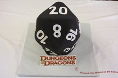 A few years ago a bride contacted me and asked if I could make the groom a cake that looked like a 20-sided die for their rehearsal dinner. For those of you who don't know, a 20-sided die is used in a classic role playing game called Dungeons & Dragons. …