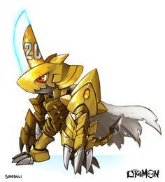 ZUBAMON  Special Fanart for the 20th Anniversary Digimon,