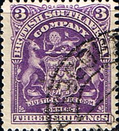 Rhodesia 1898 British South Africa Company SG 86 Fine Used Scott 68 Other Rhodesian Stamps HERE