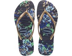 Havaianas Slim Fashion: Navy Blue
