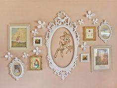 decoração com quadros – Através dos Espelhos