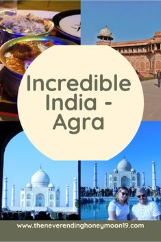 Agra - Incredible India - Golden Triangle - The Neverending Honeymoon Travel Deals, Travel Guides, Agra Fort, India Travel Guide, Third World Countries, Commercial Advertisement, Golden Triangle, Rooftop Pool, Love Symbols