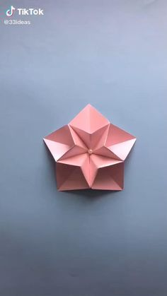 Origami Lamp, Origami Videos, Origami And Kirigami, Paper Crafts Origami, Diy Origami, Origami Candle Holder, Origami Unicorn Easy, Whale Origami, Useful Origami