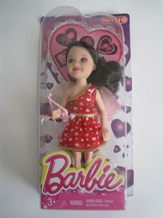 Mattel Barbie Delia Cupid Happy Valentine Small Doll 2014 Store Exclusive BJF84 #Mattel #Dolls