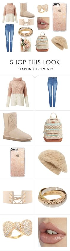"""""""casual"""" by mhaze-1 on Polyvore featuring Miss Selfridge, UGG, Rip Curl, Casetify, Sole Society and Kate Bissett"""