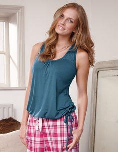 2f35383fe5 Lace Racerback Top by Bravissimo Cozy Pajamas