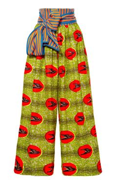 Oh Stella Jean how I love you, shall I count the ways! M'O Exclusive: Loto Waxed Cotton Pants by Stella Jean - Moda Operandi African Inspired Fashion, African Print Fashion, Africa Fashion, Fashion Prints, Love Fashion, Fashion Models, Fashion Design, African Prints, Ankara Fashion