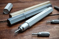 Core77 / The Min<I>i</I>nch Tool Pen: What Makes This Design Such a Funding Smash?