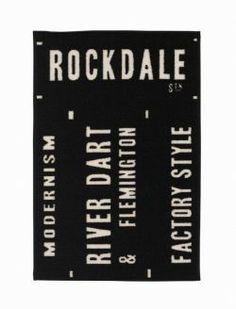 House Doctor / Předložka Rockdale 60 x 90 House Doctor, Letter Board, Boards, Bella Rose, Modern, Doormat, Design, Classic, Planks
