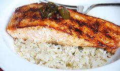 Sweet Jalepeno Salmon | Skinny Mom-  It was ok.  Flavor was lacking.  Would make again with recipe tweaks.