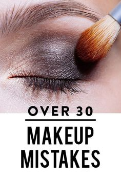 Experimenting with crazy makeup concoctions seems like a great idea in your 20's, but maybe not so when you've reached the age of maturity: 30.