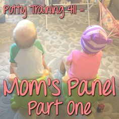Potty Training Mom's Panel Part 1. Real potty training stories from real moms!