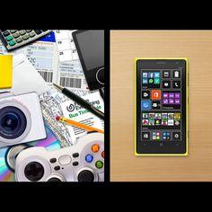 以前出門都要帶筆記本、計算機、相機……..等等 現在只需要一支 Windows Phone 搞定所有需求