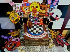 Five Nights At Freddy S Cake And Cupcakes Cool Cakes