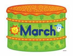 March March Pisces, English Time, March 3rd, Coffee Cans, Shapes, Numbers, Letters, Letter, Lettering