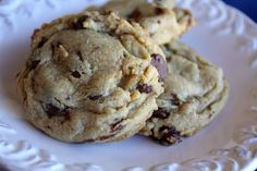 Chocolate Chip Pudding Cookies recipe by Barefeet In The Kitchen