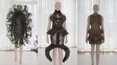 [L] Refinery Smoke / Capriole collection (2008); [C + L] Mummification collection (2009)