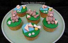 Teddy bears picnic cupcakes