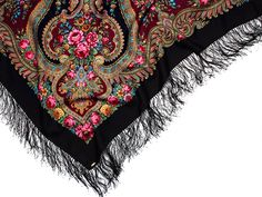 Russian shawl, woolen scarf RUSLANA