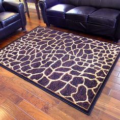 Escape to any African safari with this very beautiful giraffe skin textured area rug. A soft-touch color fast yarn double weft incorporated system make this a rich and durable rug that will last for years. Giraffe Room, Giraffe Decor, Giraffe Art, Giraffe Clothes, African Furniture, African Home Decor, Throw Rugs, Cool Rugs, Animal Print Rug