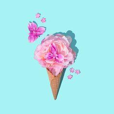 IG Peach Aqua Floral Cone 2D.jpg