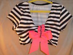 Girls dance clothes dancewear cropped top  by DanceGirlClothing, $26.00
