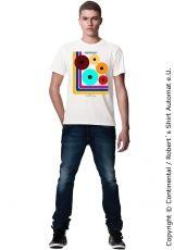 Gentlemen Retro Design T-Shirt, Kekeye Dots Design