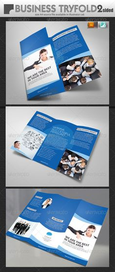 Design A Professional Business Brochure And Flyer  Brochures