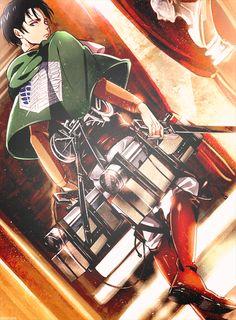 attack on titan, Rivaille Levi, Shingeki no Kyojin