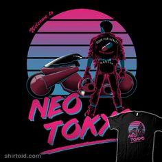 Welcome to Neo Tokyo #akira #anime #ddjvigo #film #movie #neotokyo #postcard
