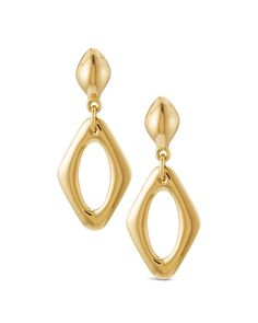 Chico's Women's Devin Diamond-Shaped Drop Earrings