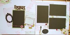 """""""Forever"""" Scrapbooking Kit by """"Diva Karen""""! Scrapbooking Kit, Ecommerce, Diva, Paper Crafts, Display, Projects, Cards, Floor Space, Log Projects"""