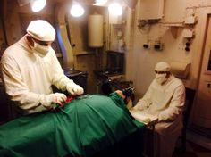 hms belfast   operation theatre   HPMcQ