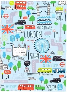 dying over all the new London themed goodies from Paperchase. London England, England Uk, Photo Images, Thinking Day, London Calling, Illustrations, Travel Posters, Print Patterns, Pattern Print