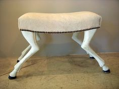Between The Boxwoods: Furniture with Animal legs?