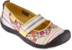 Keen Harvest MaryJane Shoes - Pink Stripe