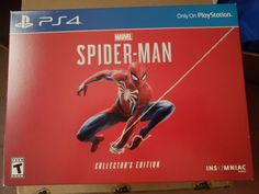 Marvel\'s Spider-Man Collector\'s Edition - PlayStation 4 Experience a brand-new and authentic Spider-Man adventure with a fully customized Amazing Red PS4 Pro console.  Best spider man ps4 pro bundle, Save price pider man ps4 bundle, Spider man ps4 pro best buy Spider man ps4 pro gamestop, Spider man ps4 pro walmart Best seller #spidermanps4prorestock #ps4prospidermanedition #Spidermanps4proconsole