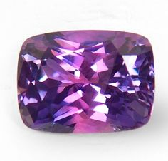 Bi-color sapphire, some of the rarest minerals that can be found in earth