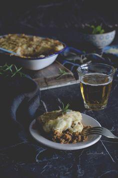 """Sabores y Momentos   Pastel de Carne o """"Cottage Pie"""" {Receta de Invierno}   http://saboresymomentos.es"""