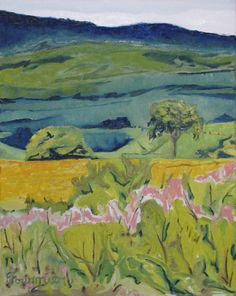 Web Site:  http://francoisfournierart.com/Fournier Impressionist Appalachian Landscape by Fournierpainter, $550.00