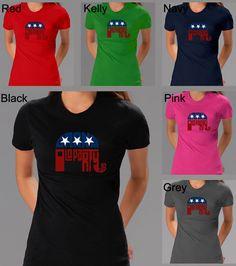 Los Angeles Pop Art Women's GOP Short Sleeve T-Shirt ( - )