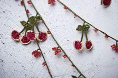 turkish lace - needle lace - crochet - oya necklace