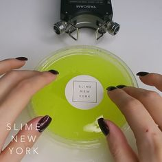 "〔 SLIME NEW YORK 〕 on Instagram: ""Electric Lime 💚 www.slimenewyork.com ⠀⠀⠀ SWIPE ← ← to watch more!! How do you guys like this ASMR slime video? I actually like this sound…"" Slime Videos, Asmr, Electric, New York, Guys, Watch, Instagram, Autonomous Sensory Meridian Response, New York City"
