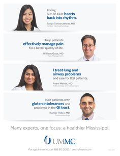 University of Mississippi Medical Center - Adult New Physician Print Ad (April 2016)